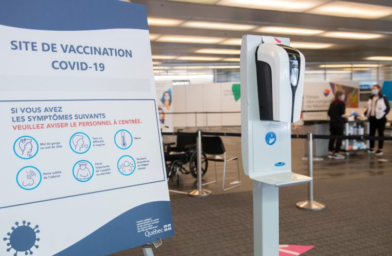 Quebecers 45 and up eligible to book COVID-19 vaccine as province eases some measures