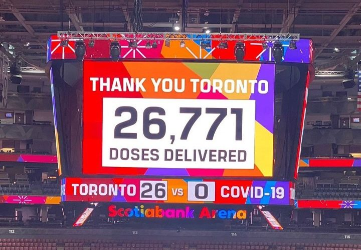 COVID-19: 'Toronto Vaccine Day' clinic sets record of nearly 27,000 shots in a day, officials say