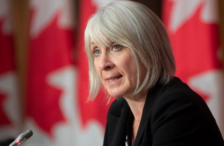Hajdu says handing over Winnipeg lab documents has 'national security' implications