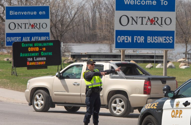 Quebec-Ontario border to reopen to non-essential travel as of Wednesday
