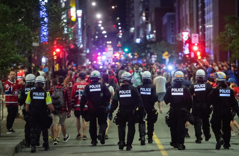 After Montreal Canadiens clinch overtime win, celebrations lead to 4 arrests, 31 tickets