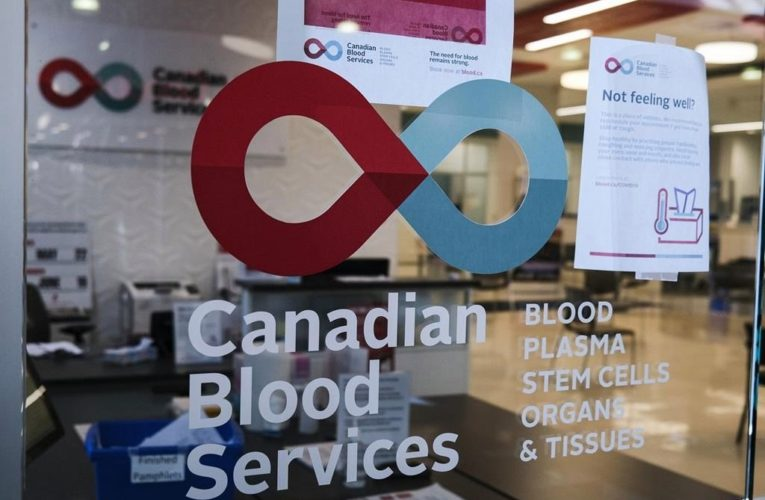 Canadian Blood Services under strain as eased COVID-19 rules increase demand