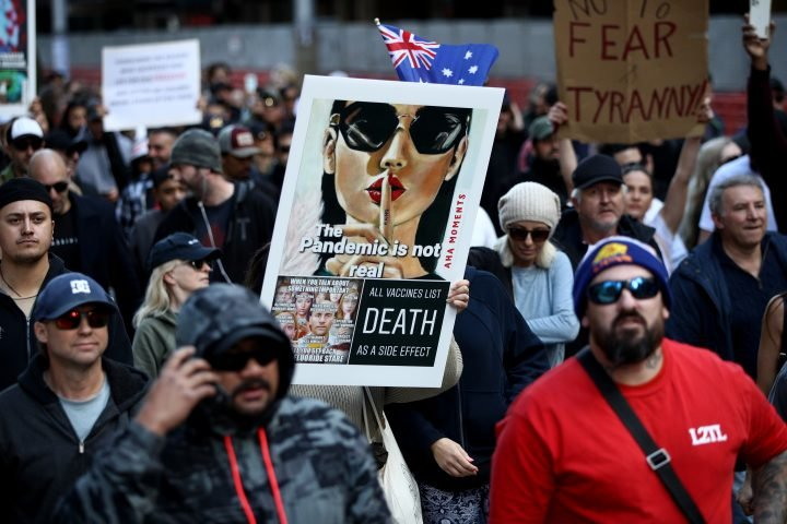 'Freedom': Thousands protest in Australia against COVID-19 lockdown, vaccines