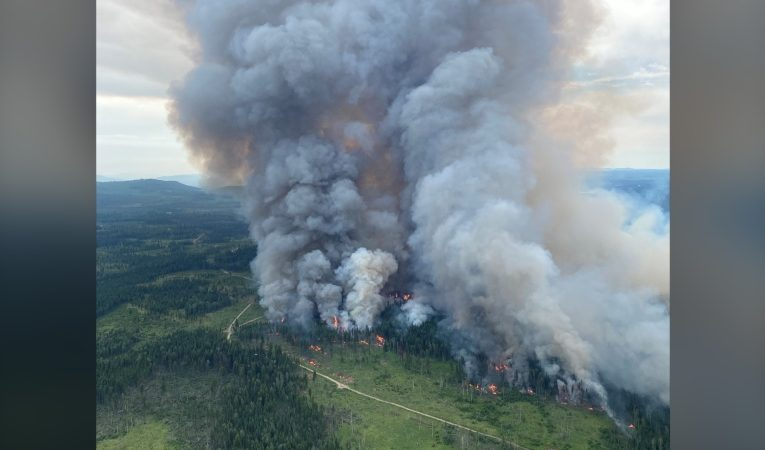 Hospital, long-term care patients moved pre-emptively as officials eye approaching B.C. wildfire