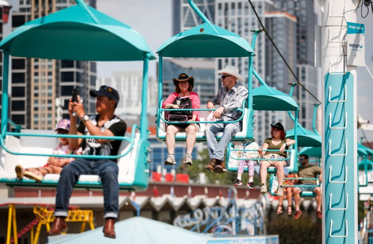 'It's got to end some time': Thousands attend Calgary Stampede music venue amid COVID-19