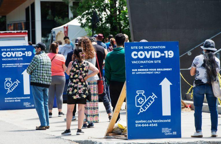 Quebec reports 75 new COVID-19 cases as hospitalizations drop below 80