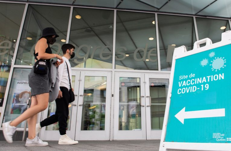 Quebec to roll out COVID-19 vaccination passport system by September