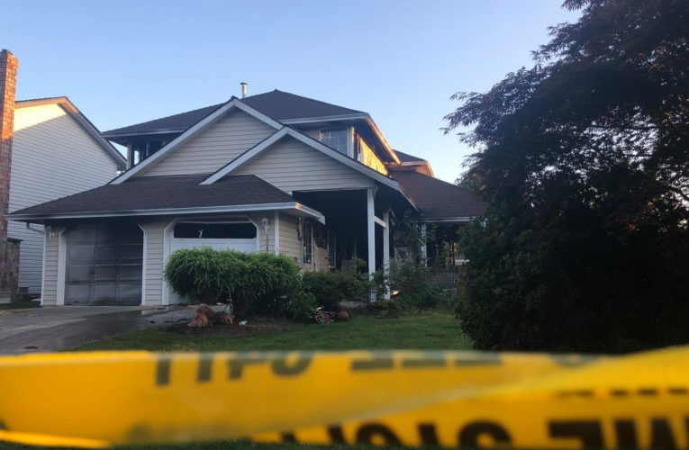 Two people, including five-year-old child, dead following Surrey B.C. house fire