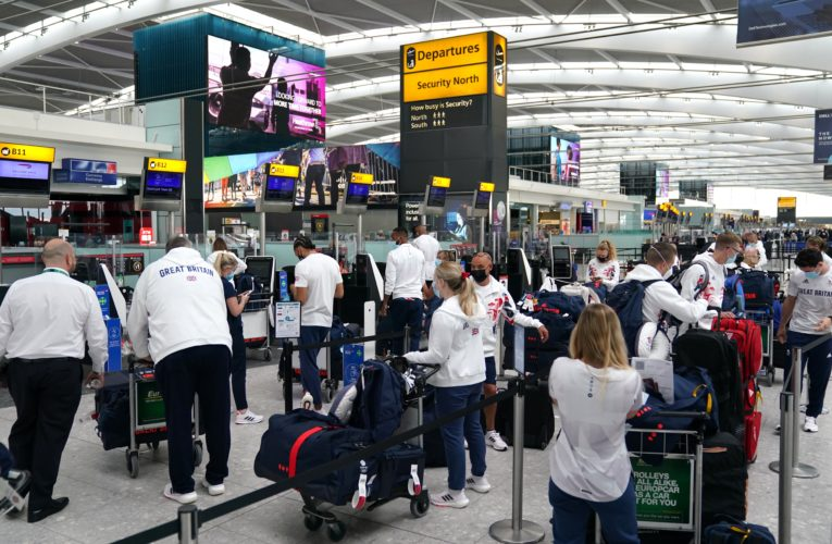 U.K. reverses easing France travel restrictions as health chief catches COVID-19