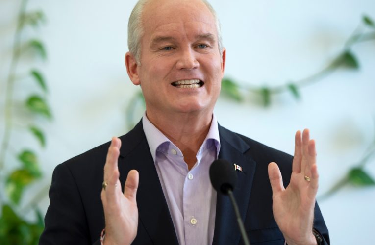 O'Toole to allow safe injection sites, fund opioid recovery centres