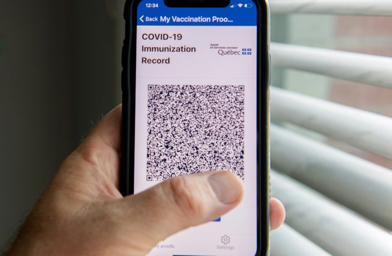 Police complaints filed after politicians' COVID-19 vaccine passport QR codes allegedly hacked