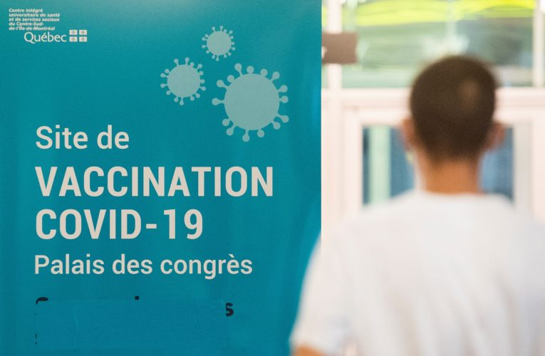 Quebec reports 386 new COVID-19 cases, hospitalizations down slightly