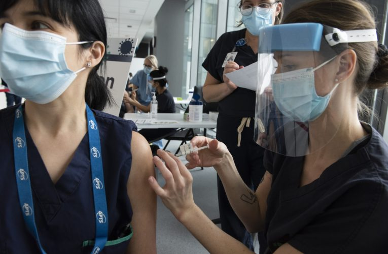 Appeal for more time as Quebec holds firm on mandatory COVID-19 vaccination for health workers