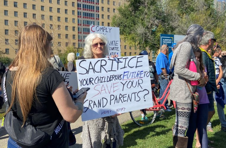 COVID-19: What are the political, moral impacts of anti-vaccine protests at hospitals?