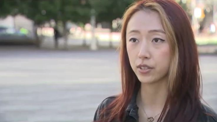 'It hurts my heart': Vancouver nurse says she was target of racist remarks during anti-vaccine card rally