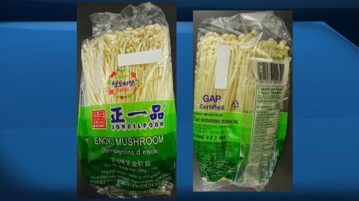 Jongilpoom brand enoki mushrooms recalled for possible Listeria contamination