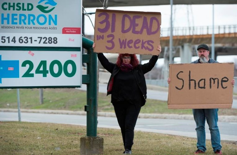 Quebec coroner extends hearings into COVID-19 deaths at Residence Herron