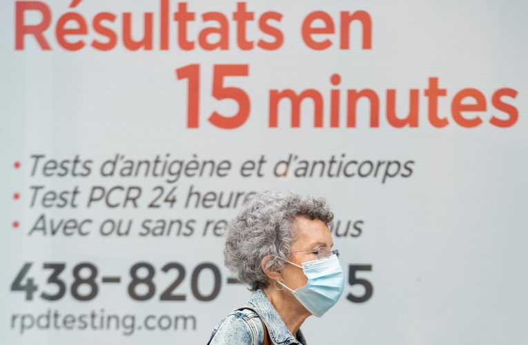 Quebec reports 683 new COVID-19 cases, 5 more deaths