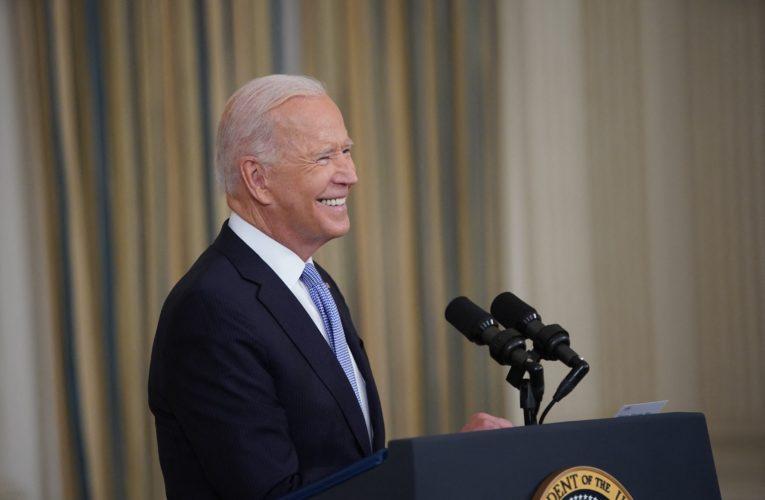U.S. President Joe Biden receives COVID-19 booster shot following CDC backing