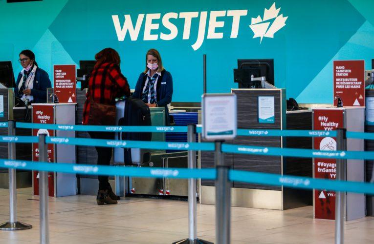 WestJet announces employee COVID-19 vaccine mandate