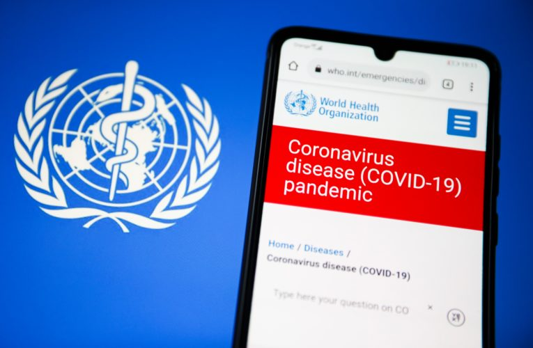 WHO reports drop in new COVID-19 infections across the world