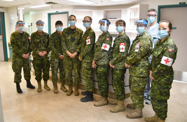 Canadian military to provide COVID-19 support in Saskatchewan