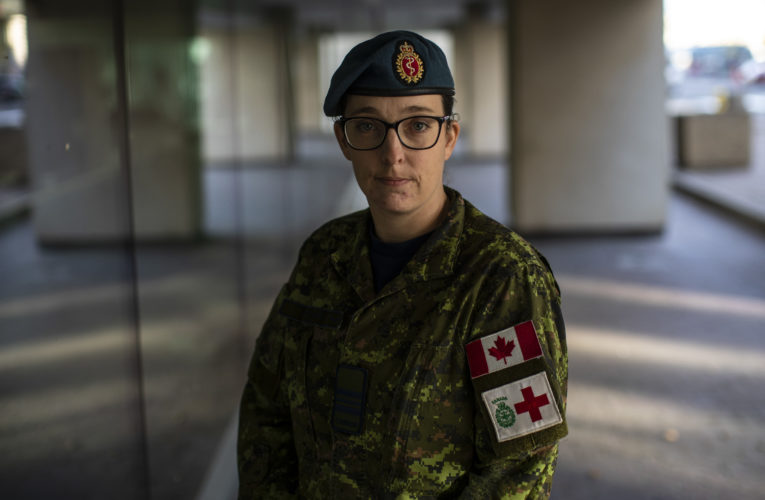 Leader of military nurses in Alberta hospital stays focused: 'Do what you need to do'