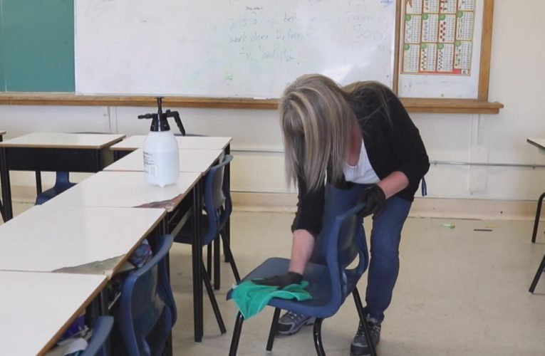 New Brunswick school custodians falling behind in COVID-19 cleaning need help, union says
