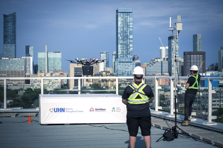 Toronto hospital network, Quebec company behind world's first delivery of lungs by drone