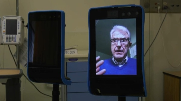 Visit with a robot: B.C. researchers test out new way to connect in long-term care